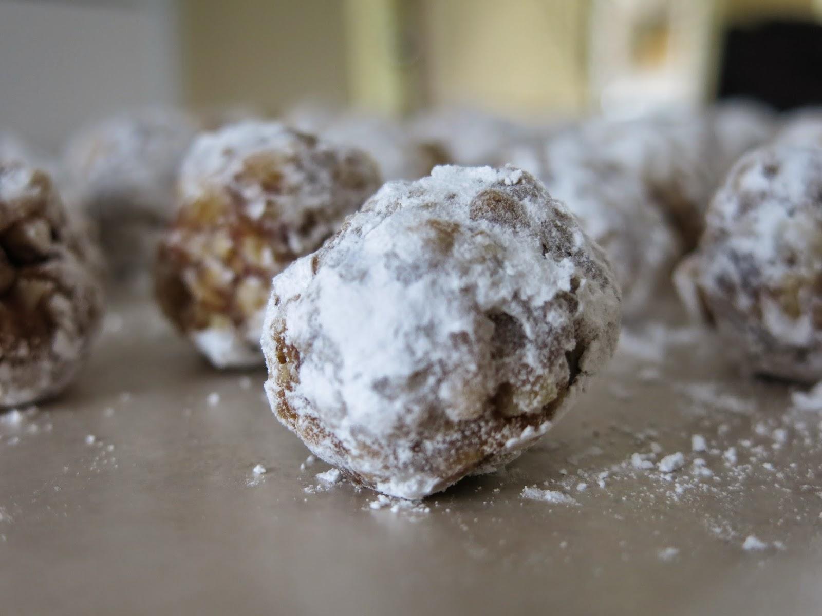 balls homemade sno balls krispy treats rum balls rum balls rum balls ...