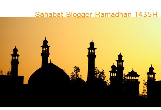 15 Sahabat Blogger Ramadhan 1435H