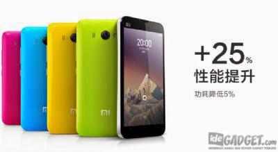 List Harga Lengkap Handphone Xiaomi 2014