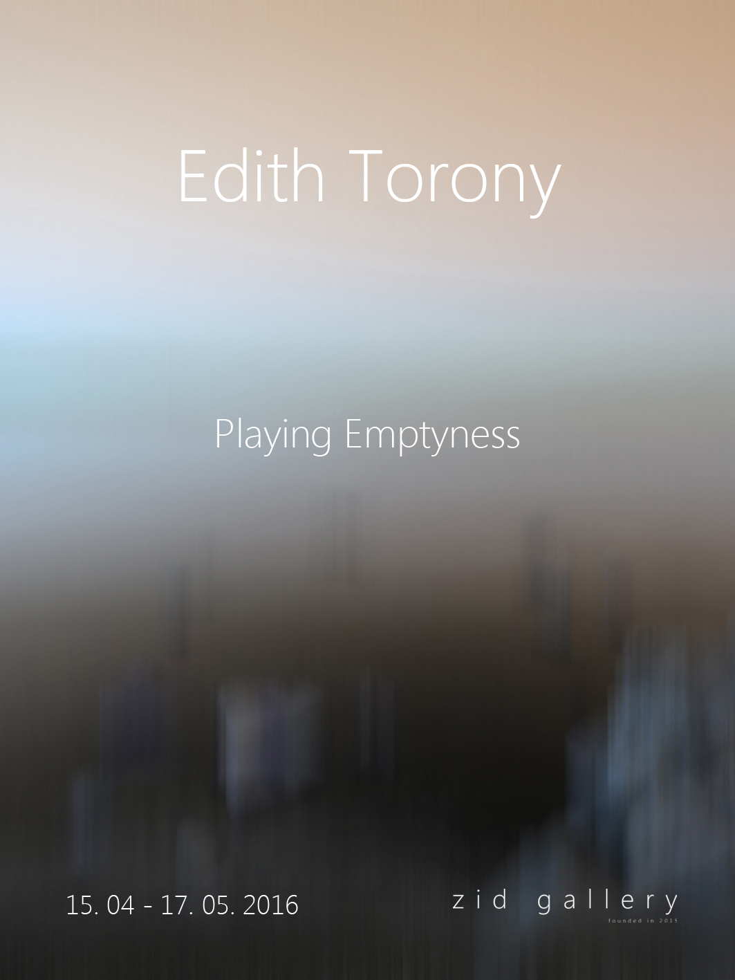 Playing Emptyness