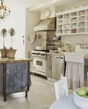 To See French Inspired Unfitted Kitchens Visit Cote De Texas Here I Hope  You Enjoy Looking At These Pictures ~ Karla