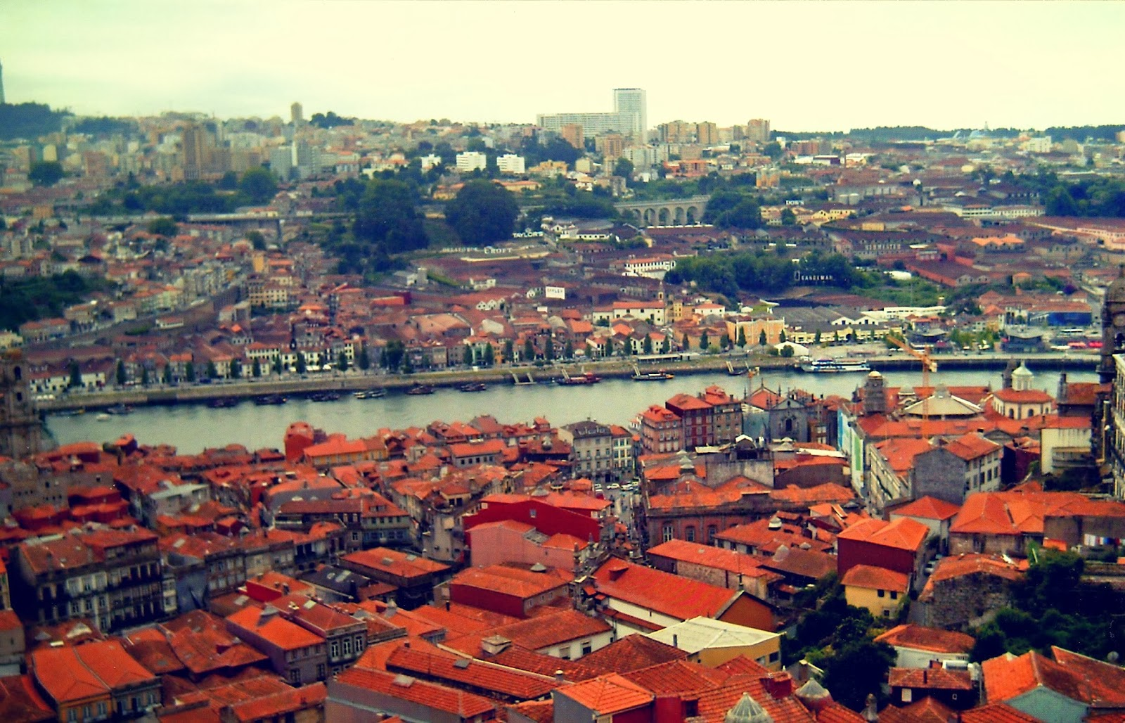 oporto portugal duero torre clerigos