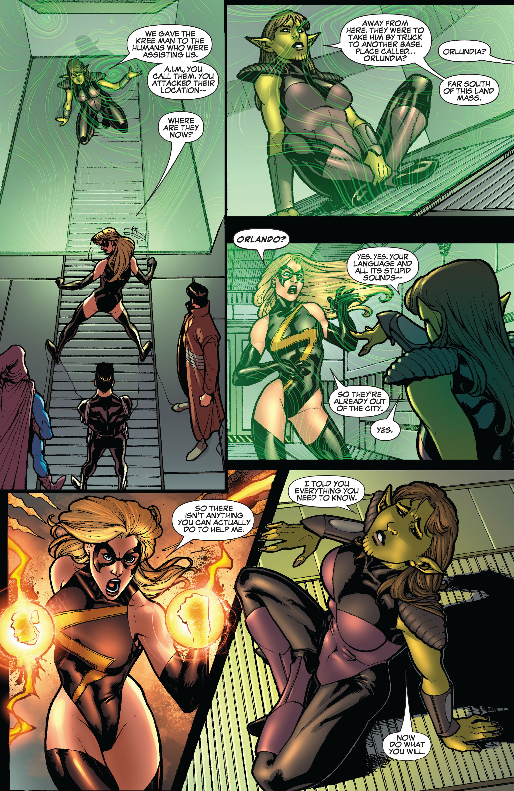 Read online Secret Invasion: The Infiltration comic -  Issue #10 - 4