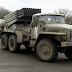 """Ο Ουκρανικός στρατός σφίγγει με πολλαπλά συστήματα πυραύλων """"Grad"""" την Συνοριακή γραμμή"""