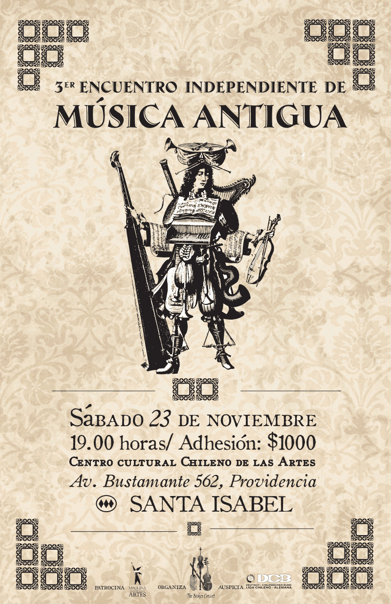 3er Encuentro Independiente de Música Antigua (2013)