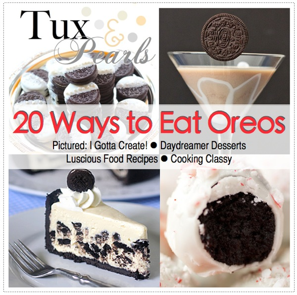 20 Delicious Oreo Recipes featured at I Gotta Create!