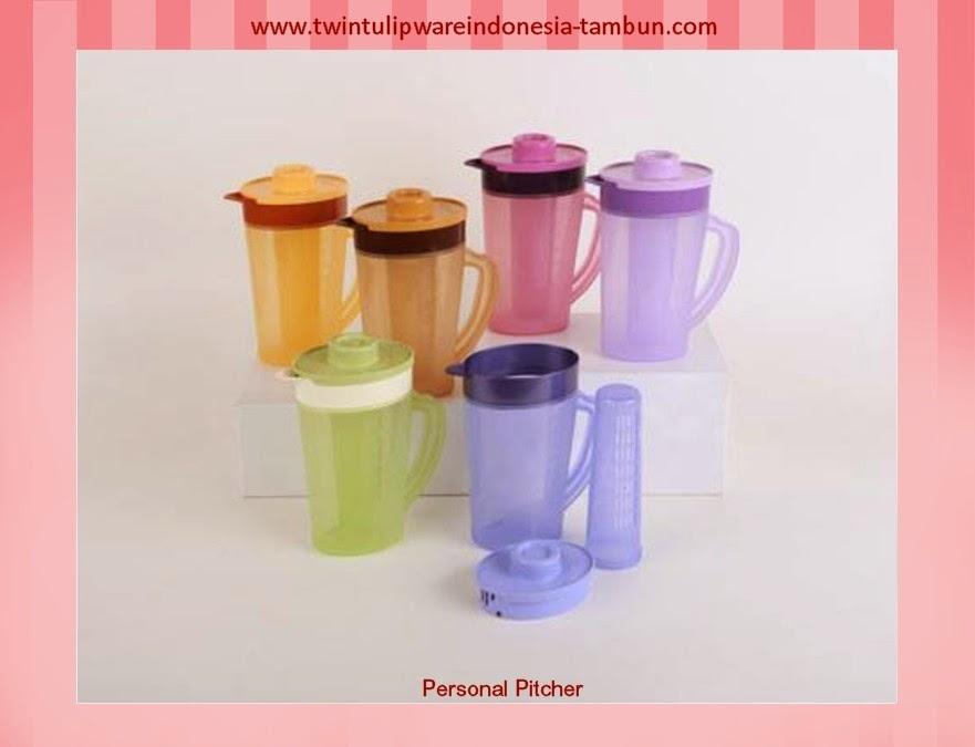 personal pitcher | produk baru tulipware 2013