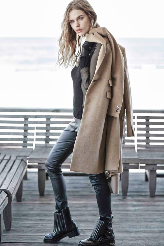 Pantalones de moda invierno 2015 Paula Cahen D'Anvers.