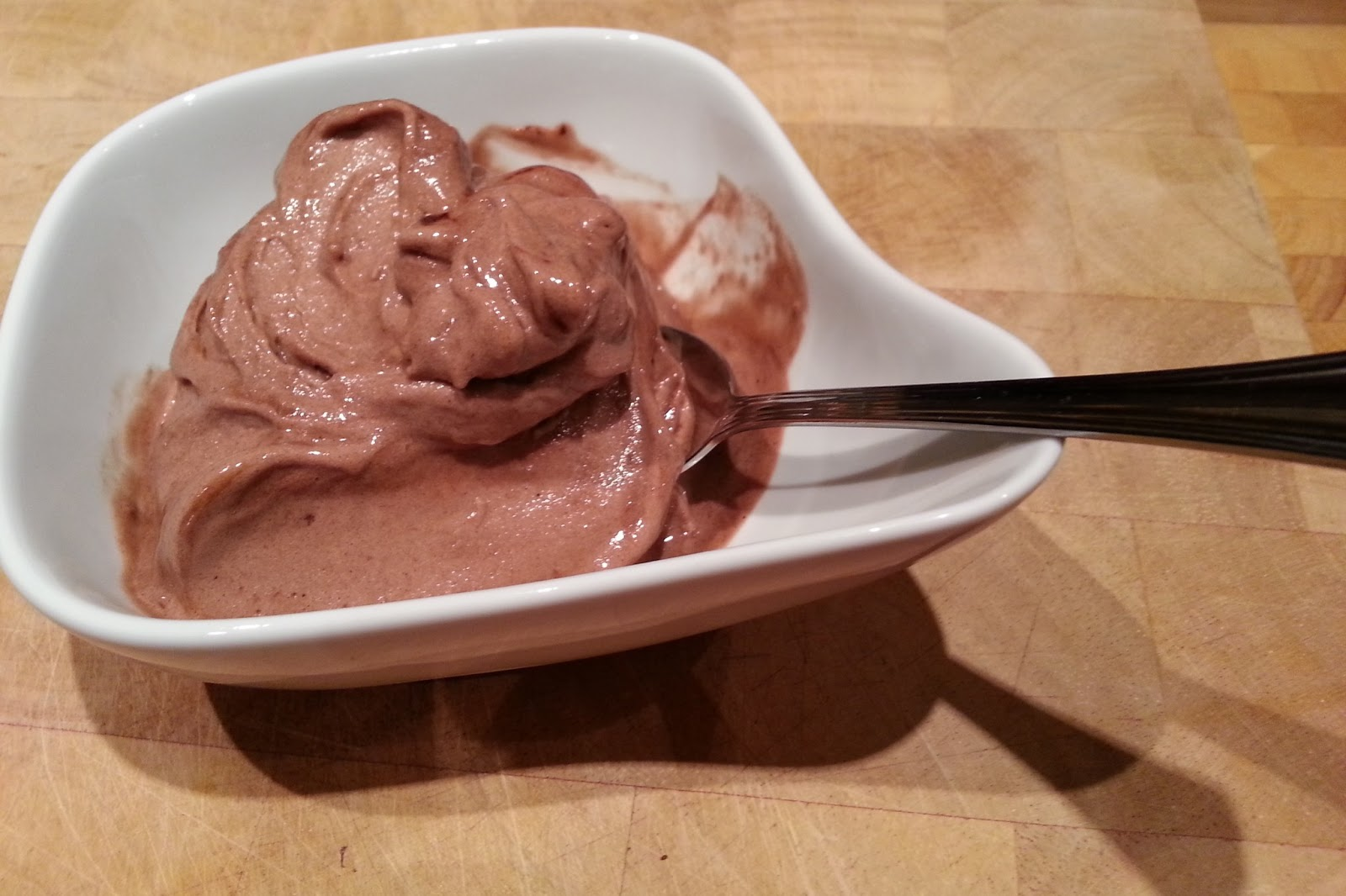 Slimming World Delights: Chocolate Banana Ice cream