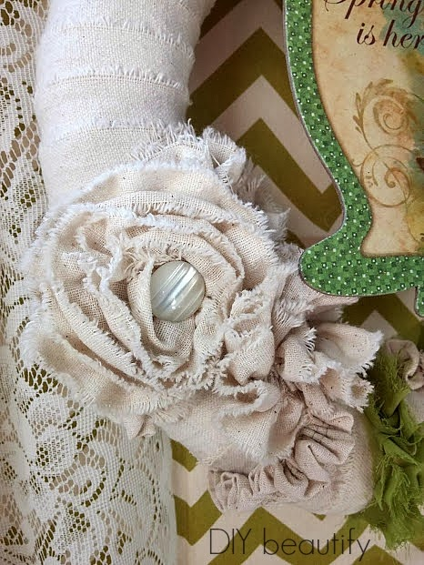 Shabby Spring Wreath
