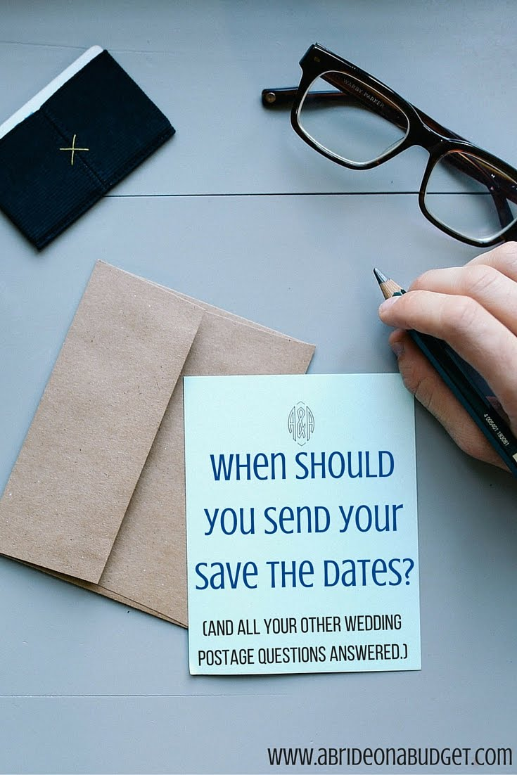When Should You Send Your Save The Dates And All Your Other
