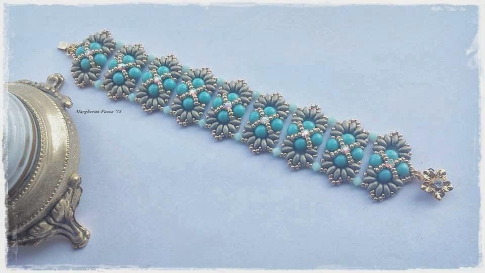 Bien-aimé 75marghe75 Bead By Bead: Vi mostro un paio di bracciali con  IP19