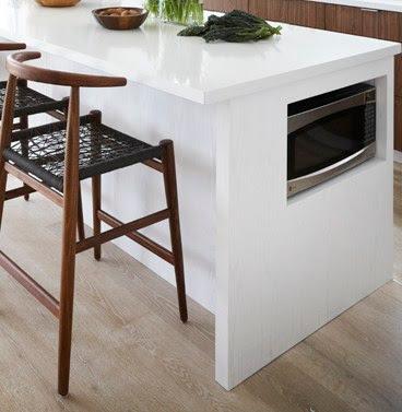 7 sitios donde colocar el microondas - Donde colocar tv en cocina ...