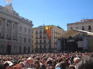 Plaça Sant Jaume in Barcelona