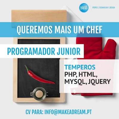 Makeadream quer um chef programador software junior