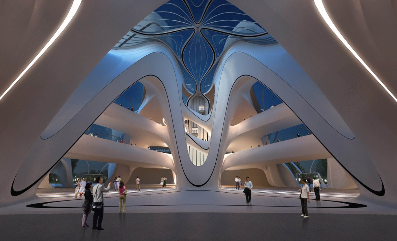 Art Design International : Modern architecture by zaha hadid architects