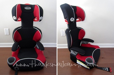 Graco AFFIX booster seat review