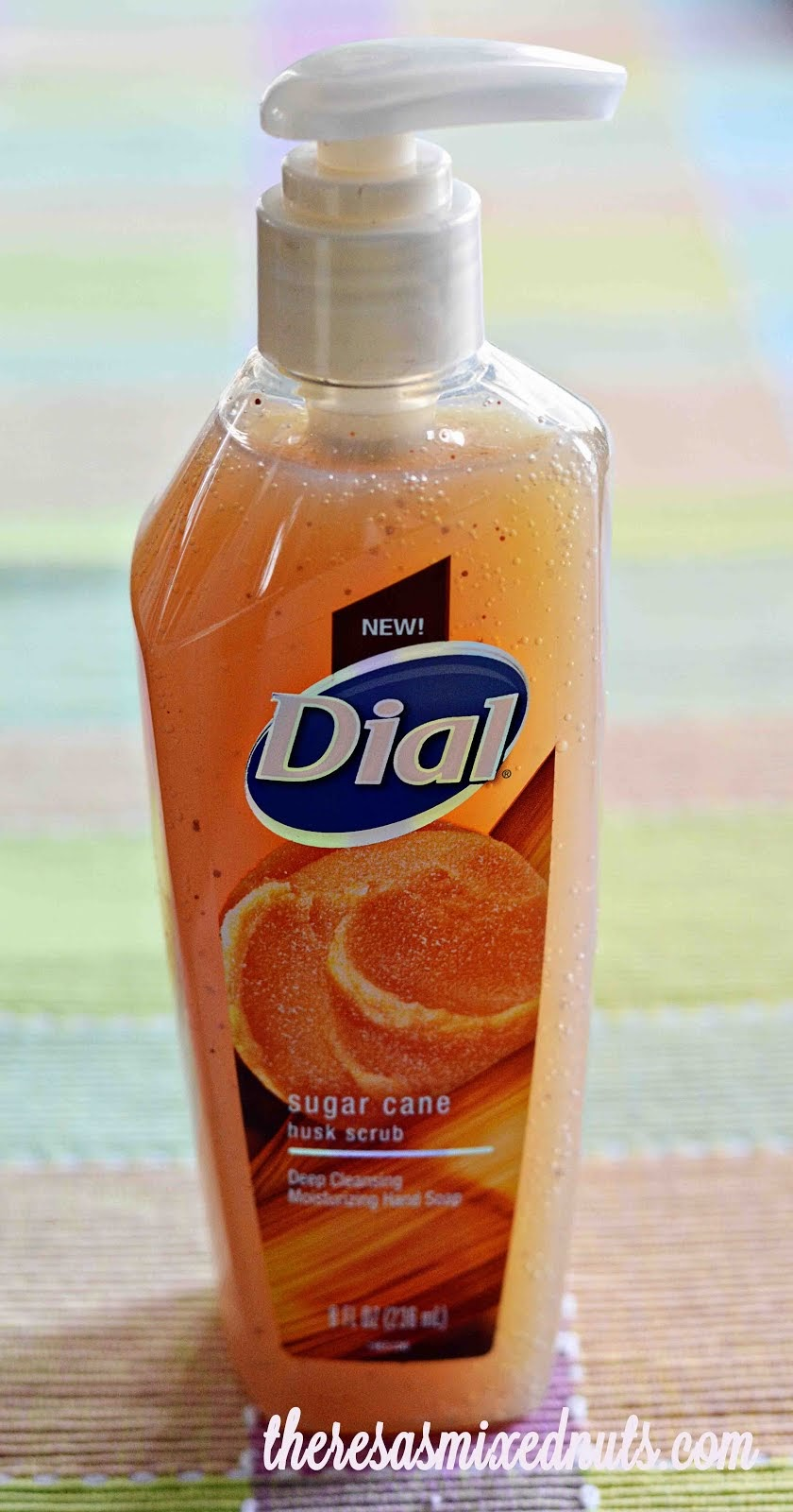 Enter To Win Dial Sugar Cane Husk Scrub Hand Soap