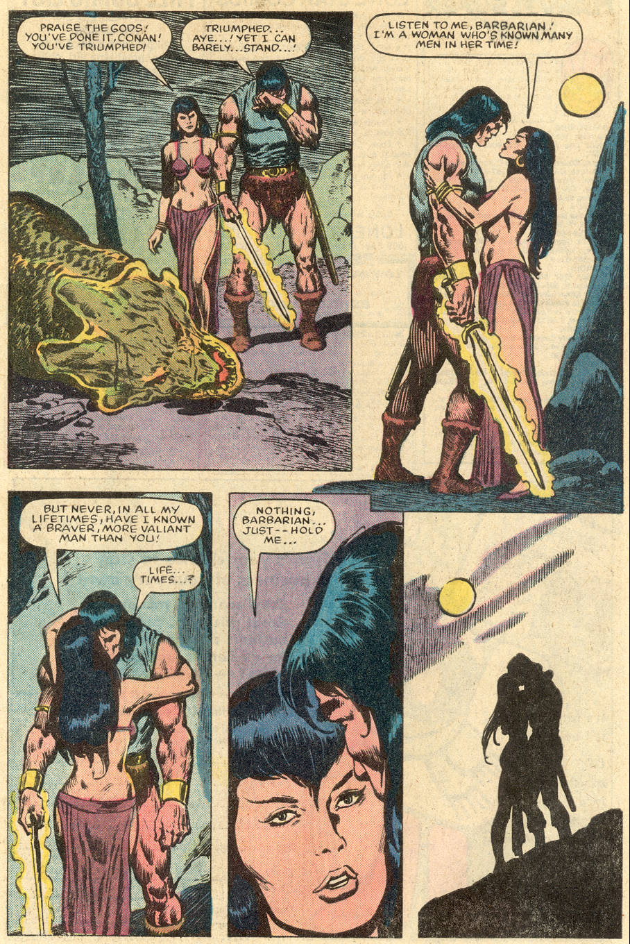 Conan the Barbarian (1970) Issue #152 #164 - English 16