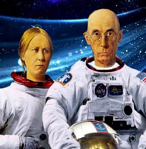 American Gothic in space