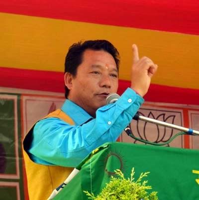 Gorkha Janmukti Morcha president and GTA chief Bimal Gurung