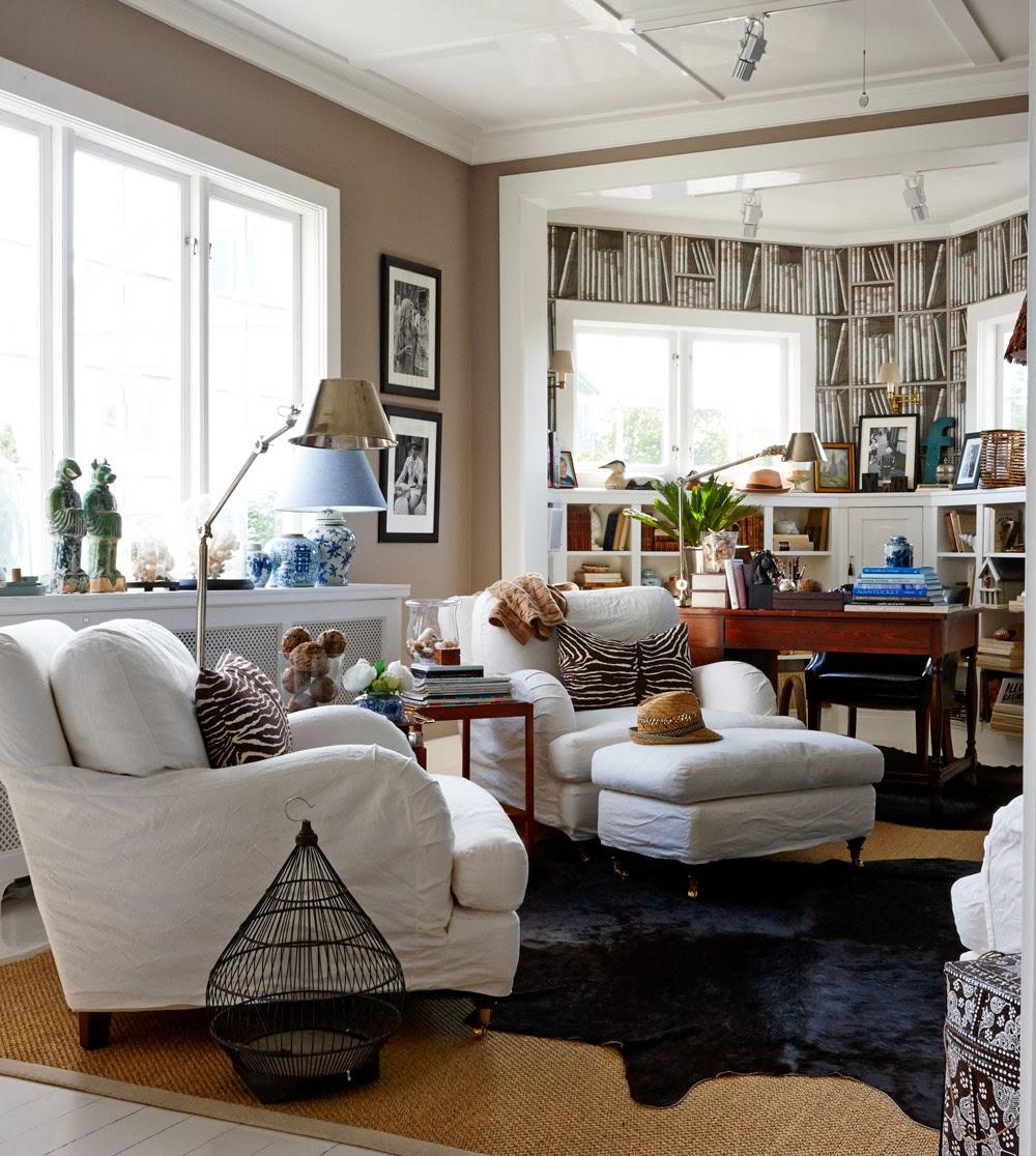 Stockholm vitt   interior design: country dream