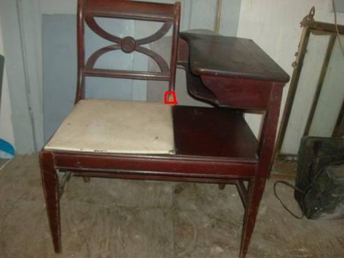 Antique Phone Chair - Antique Phone Chair Antique Furniture