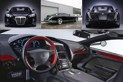The Worlds most expensive Car Maybach Exelero