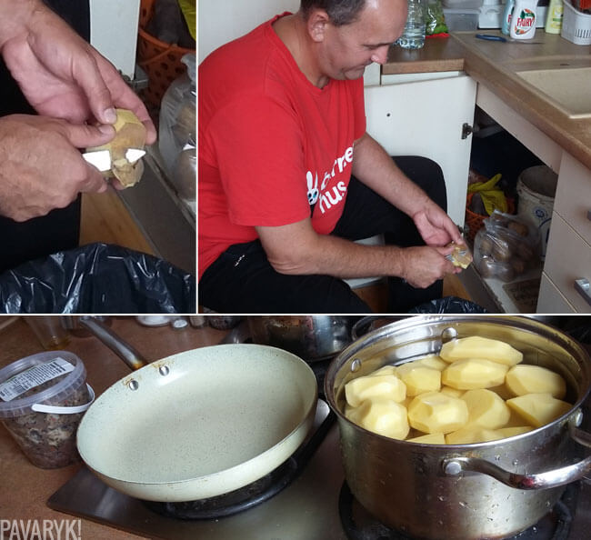 Bulvių skutimas