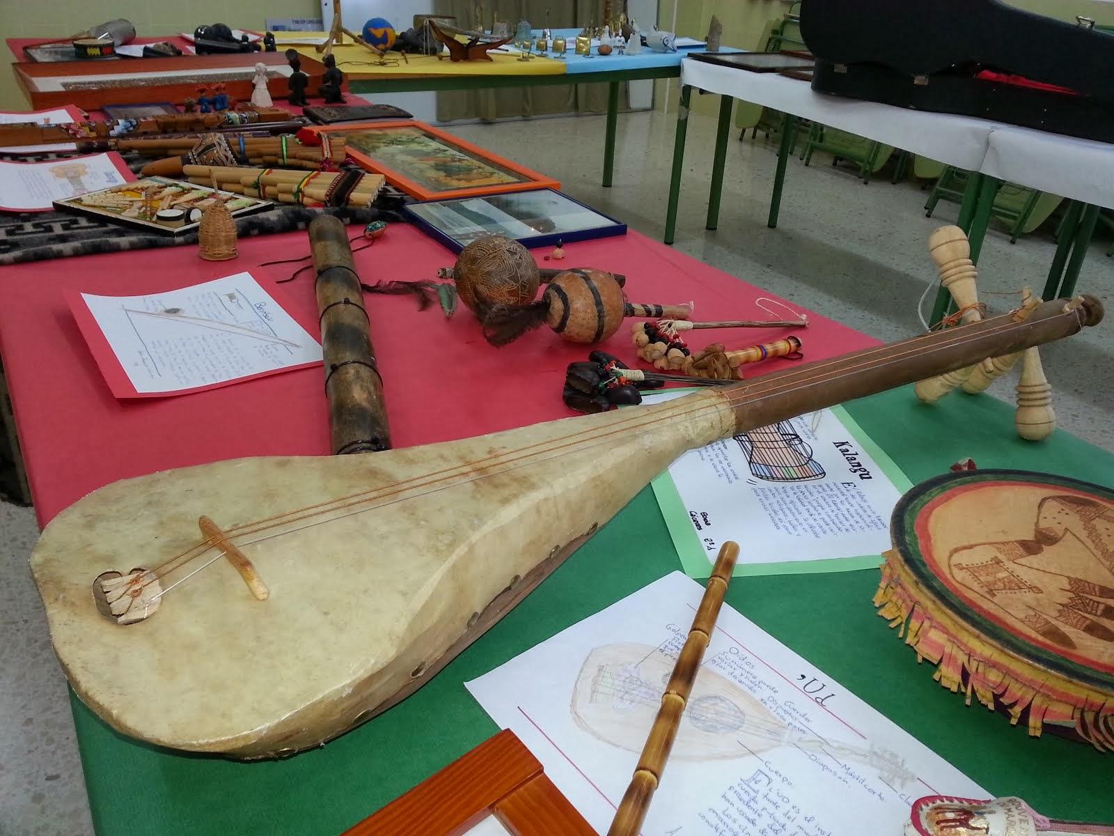 Santa Cecilia. Exposición de Instrumentos del mundo
