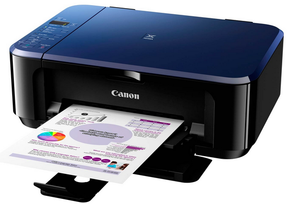 Service Error Printer Canon E500