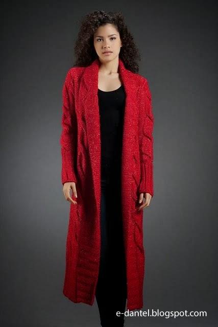 Kışlık Bayan Hırka Modelleri