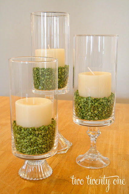 How gorgeous would these be as wedding centerpieces