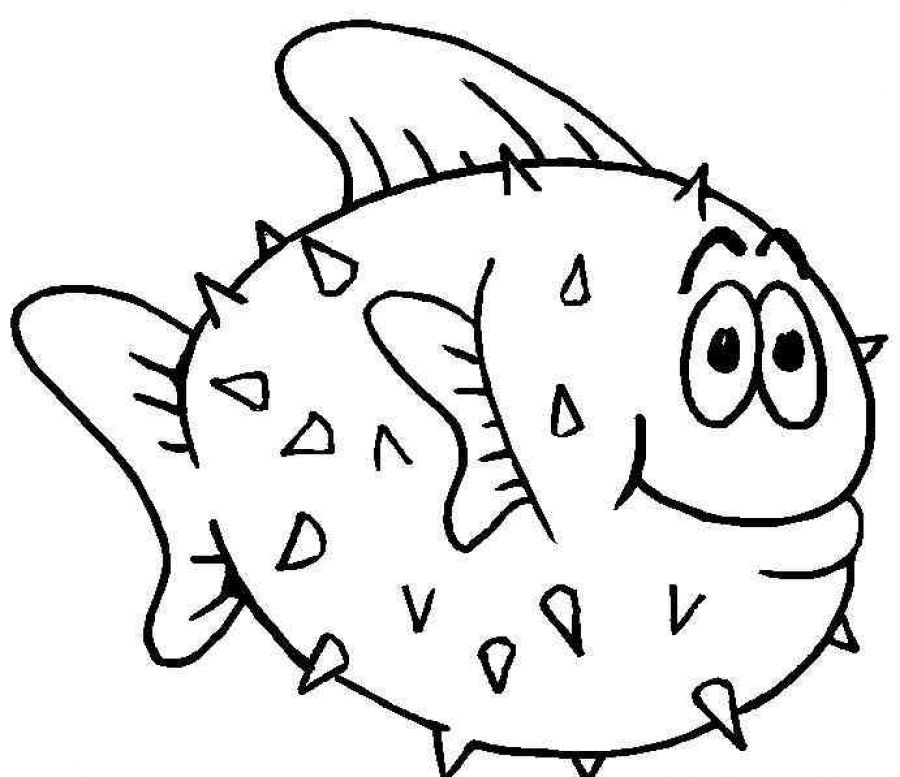 Kids Page Fish Coloring Pages