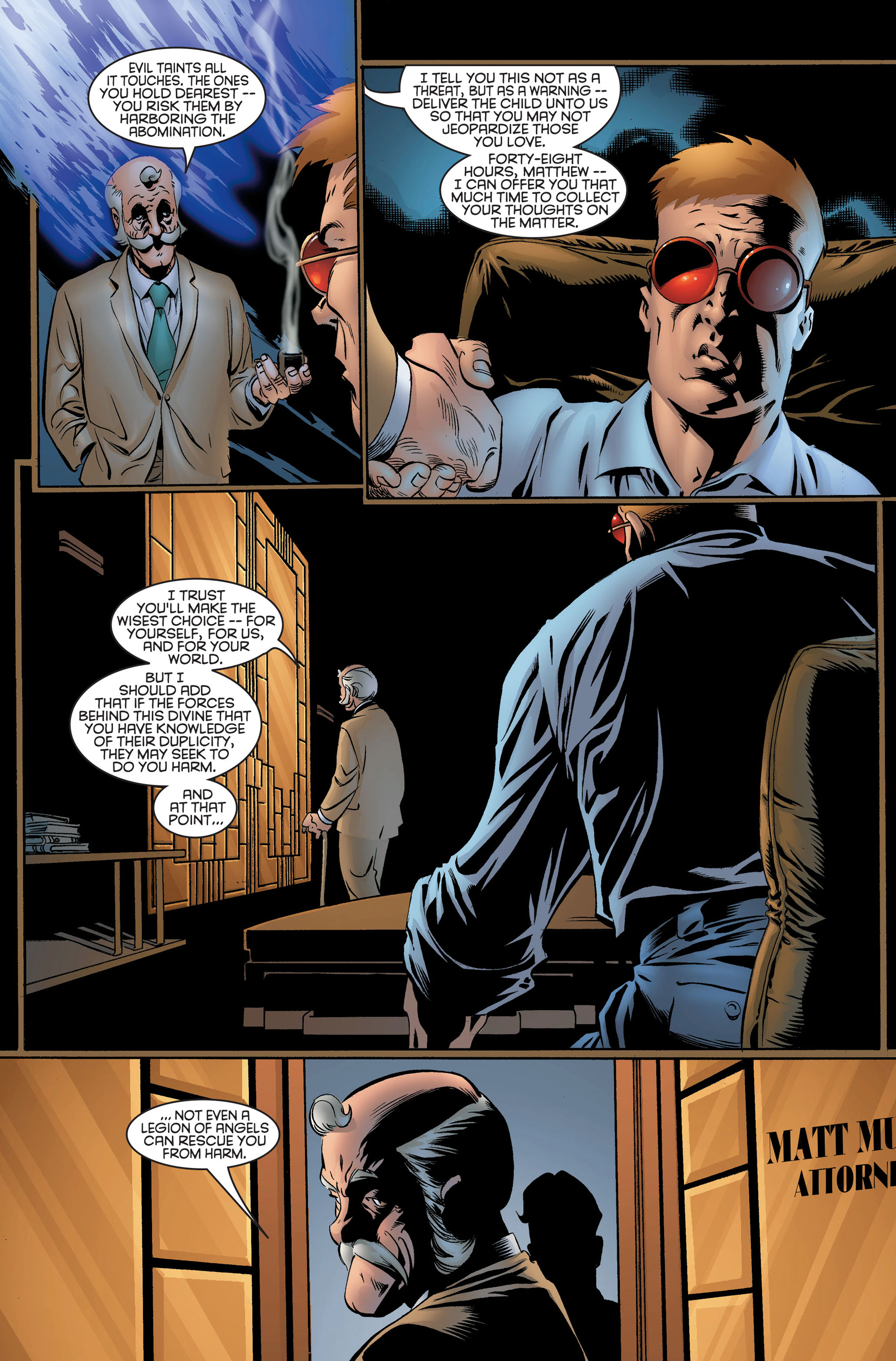 Read online Daredevil (1998) comic -  Issue #2 - 11