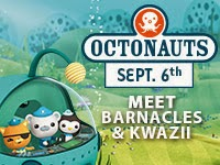 The Octonauts Are at Mystic Aquarium