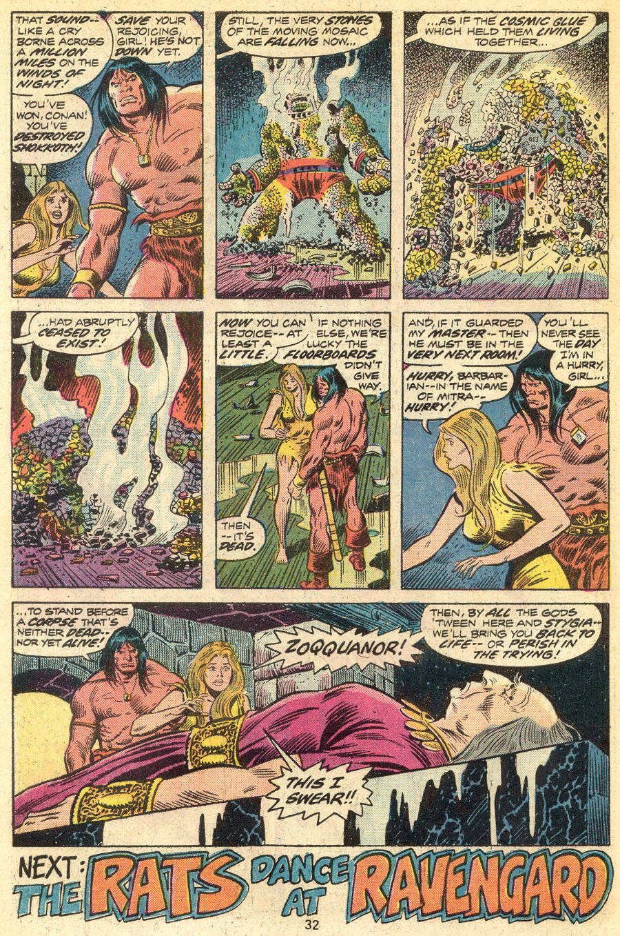 Conan the Barbarian (1970) Issue #46 #58 - English 19