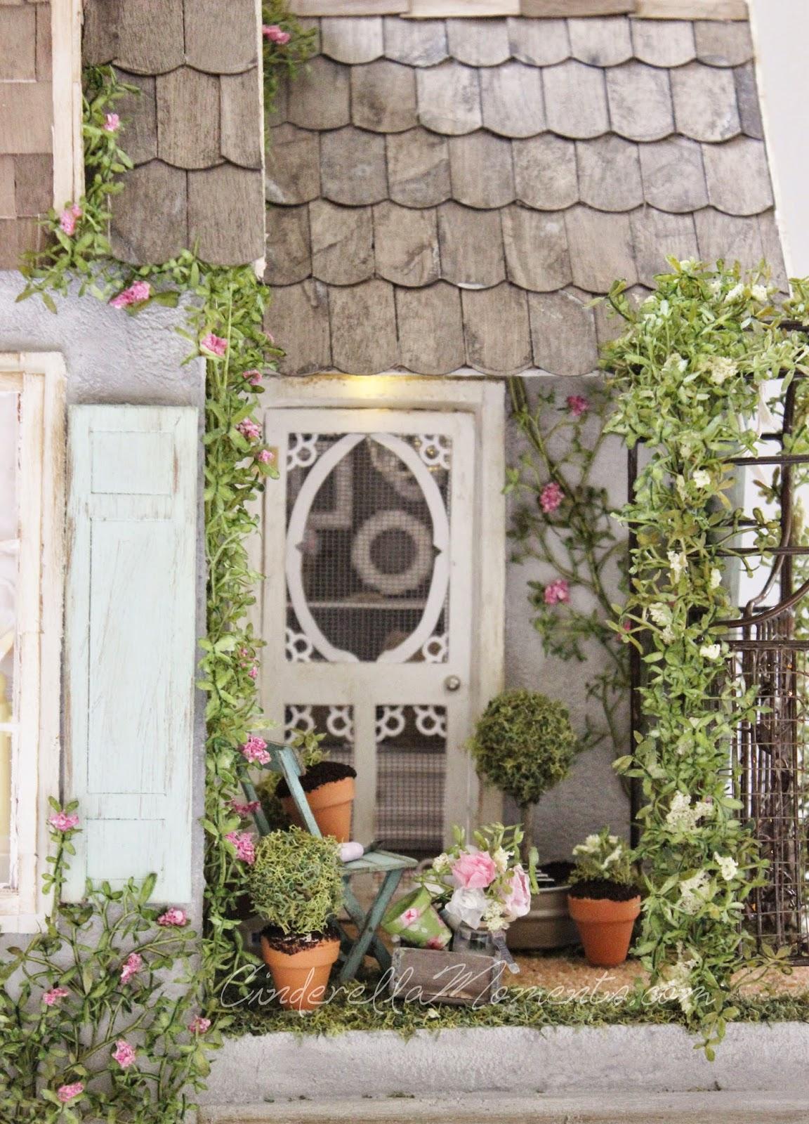 Cinderella Moments Summer House Custom Dollhouse
