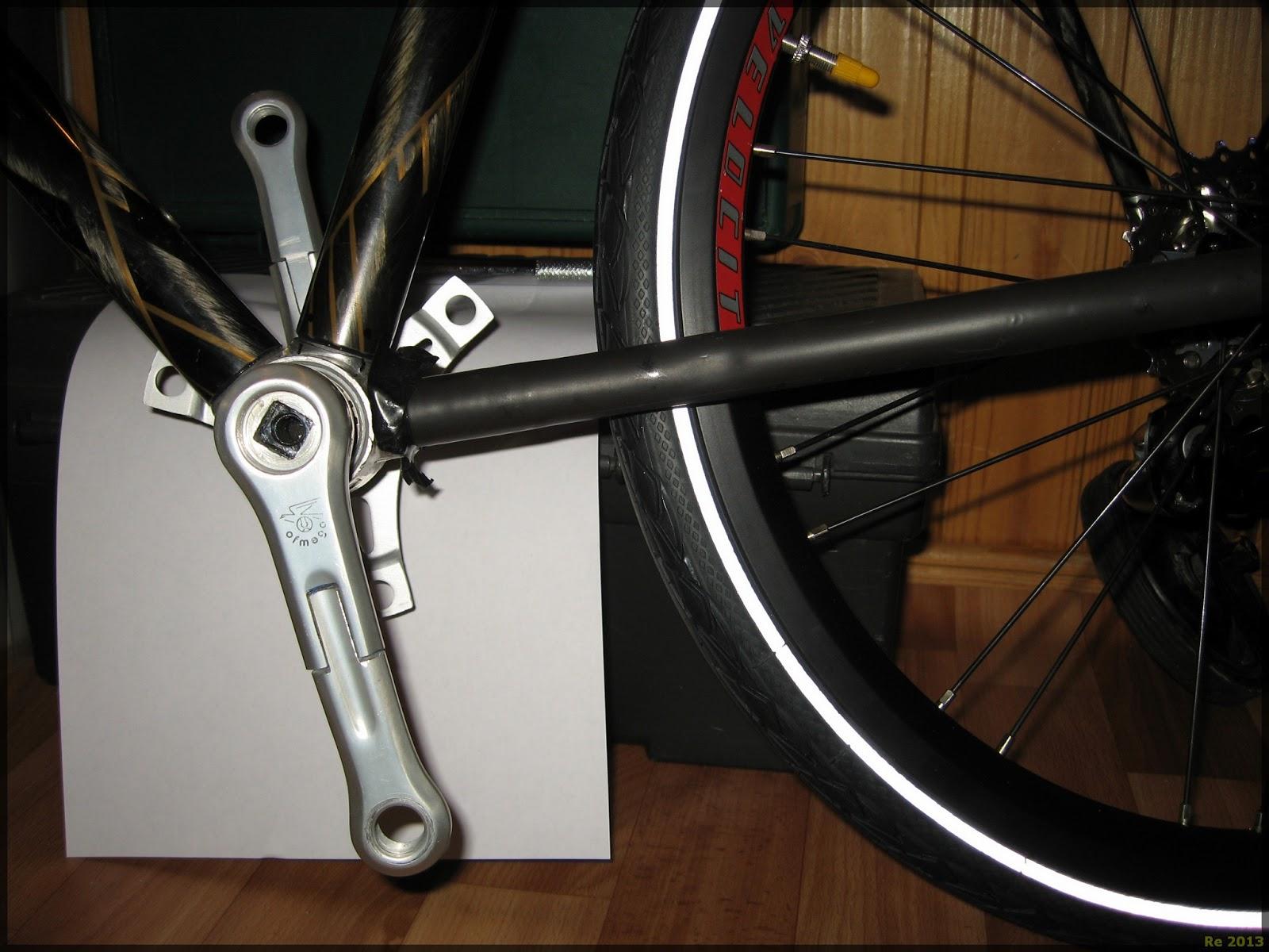 Как сделать шатун на велосипеде 70