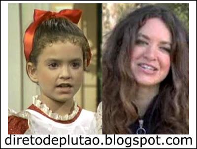 Antes e depois Super Vicky ontem e hoje