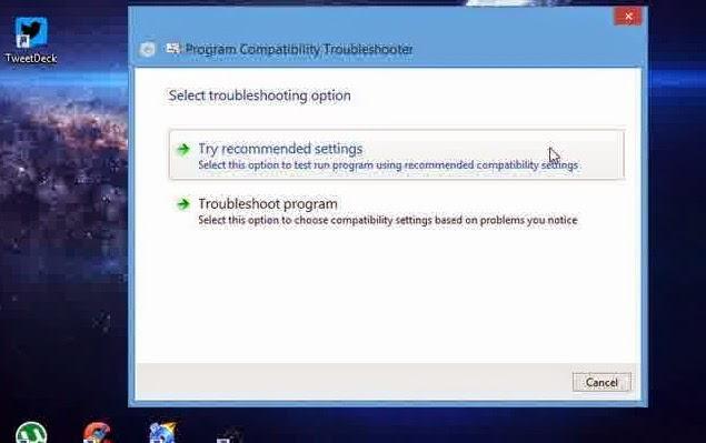 Cara Menjalankan Software Lama di Windows 8.1