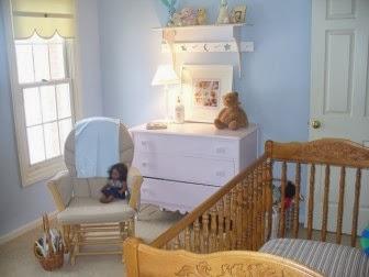 Dormitorios para beb s en celeste y amarillo dormitorios for Habitacion bebe varon