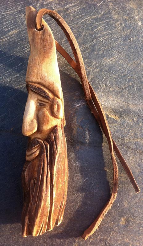Bushgear tutorial wood spirit carving in pear