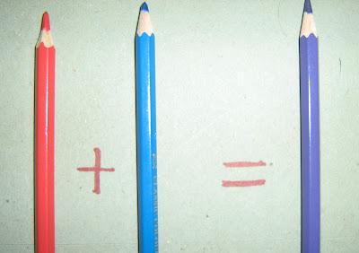 Merah + Biru = Ungu