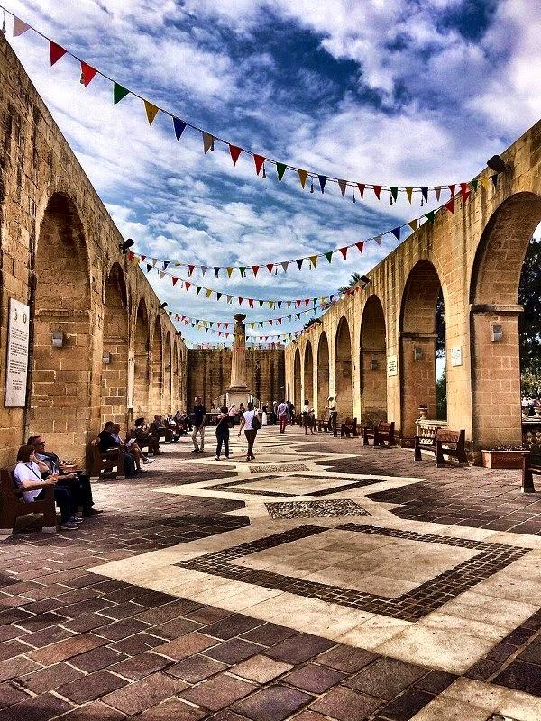 Upper Barakka Gardens Valletta Malta
