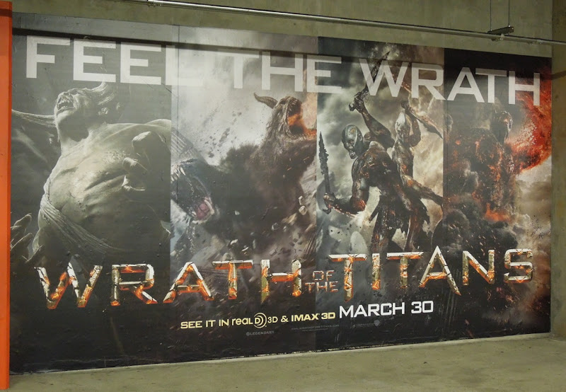 Wrath of Titans movie ad