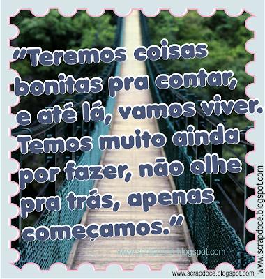 Foto Mensagem de Motivação com frase de Renato Russo para compartilhar no Facebook