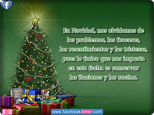 Tarjetas con frases de navidad para facebook im genes - Bonitas tarjetas de navidad ...