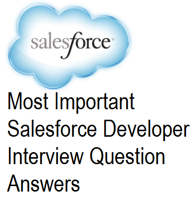 Salesforce Developer Interview Questions