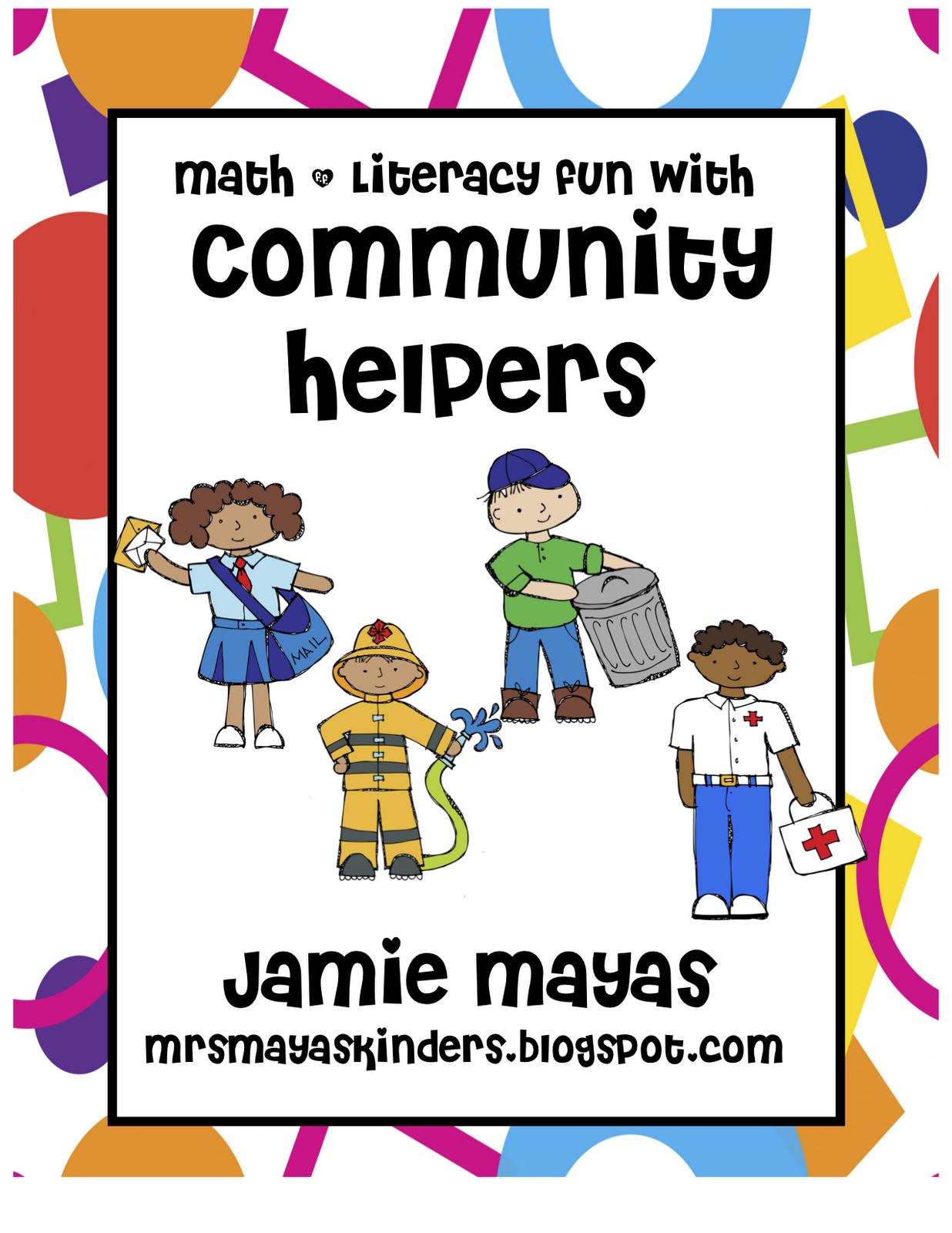 my Community Helpers unit!